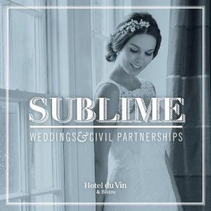 SUBLIME WEDDINGS& CIVIL PARTNERSHIPS