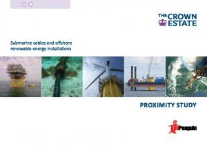 Submarine cables and offshore renewable energy installations. Proximity Study