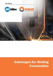 Submerged Arc Welding Consumables