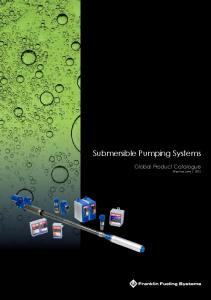 Submersible Pumping Systems
