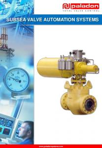 SUBSEA VALVE AUTOMATION SYSTEMS