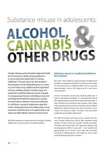 Substance misuse in adolescents: