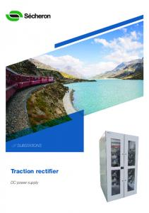 SUBSTATIONS. Traction rectifier. DC power supply