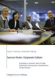 Success Factor: Corporate Culture
