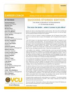 SUCCESS STORIES EDITION