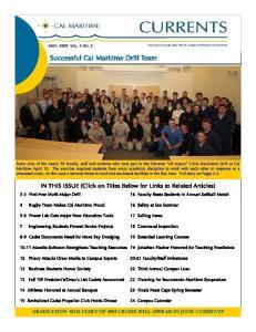 Successful Cal Maritime Drill Team