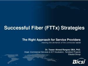 Successful Fiber (FTTx) Strategies