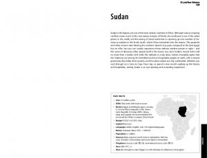 Sudan. Lonely Planet Publications 197