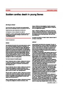 Sudden cardiac death in young Danes