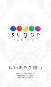 sugar 50 Massachusetts Avenue NE Washington D.C.,