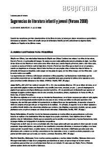 Sugerencias de literatura infantil y juvenil (Verano 2008)