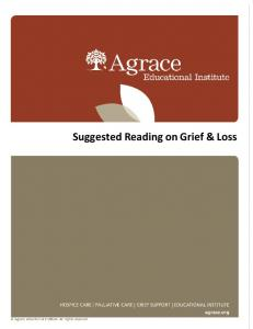 Suggested Reading on Grief & Loss