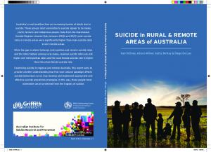 SUICIDE in RURAL & REMOTE AREAS of AUSTRALIA