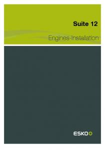 Suite 12. Engines-Installation