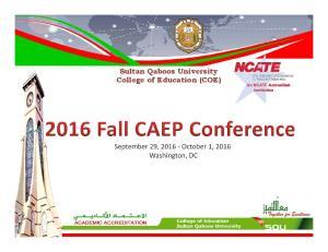 Sultan Qaboos University College of Education (COE)