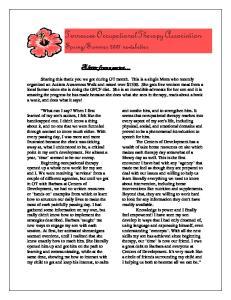 Summer 2007 newsletter