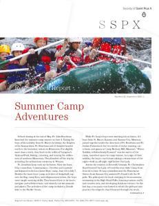 Summer Camp Adventures