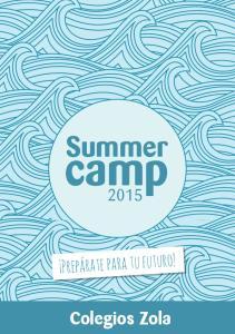 Summer camp Colegios Zola
