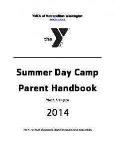 Summer Day Camp Parent Handbook