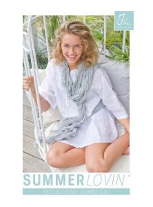 summer lovin Press kit spring - summer 2013