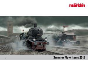 Summer New Items 2012