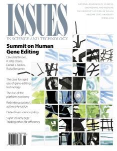 Summit on Human Gene Editing