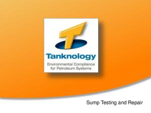 Sump Testing and Repair
