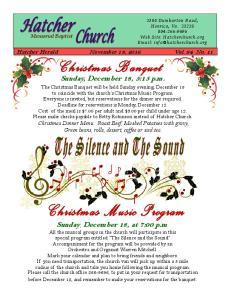 Sunday, December 18, 5:15 p.m