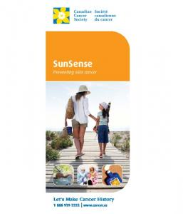 SunSense Preventing skin cancer