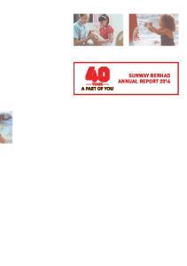 Sunway Berhad Annual Report 2014