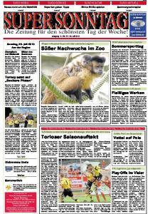 SUPER SONNTAG. Die Zeitung für den schönsten Tag der Woche! Jahrgang 16 -Nr Juli 2010