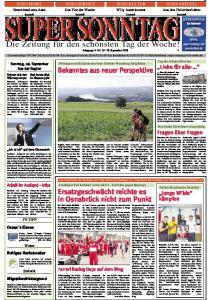 SUPER SONNTAG. Die Zeitung für den schönsten Tag der Woche! Jahrgang 14 -Nr September 2008
