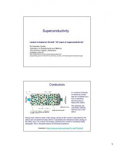 Superconductivity. Lecture is based on the talk 101 years of superconductivity