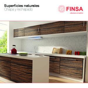 Superficies naturales Chapa y rechapado. soluciones en madera