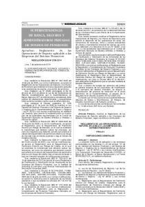 SUPERINTENDENCIA DE BANCA, SEGUROS Y ADMINISTRADORAS PRIVADAS DE FONDOS DE PENSIONES