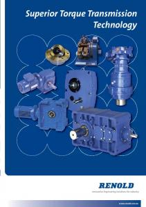 Superior Torque Transmission Technology