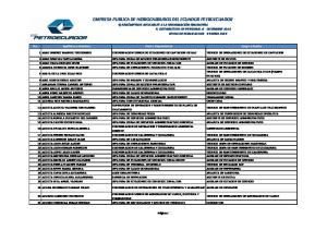 SUPERVISION DE OPERACION Y MANTENIMIENTO DE PLANTA DE TRATAMIENTO