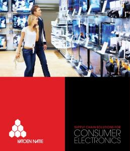 Supply Chain Solutions for CONSUMER