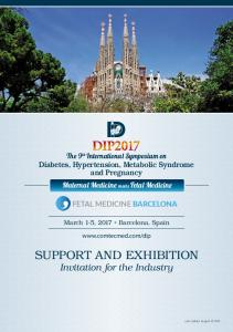 Support and Exhibition Invitation for the Industry