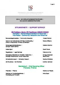 SUPPORT SERVICE