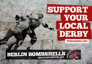 SUPPORT YOUR LOCAL DERBY