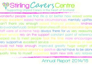 Supporting Unpaid Carers in the Heart of Scotland