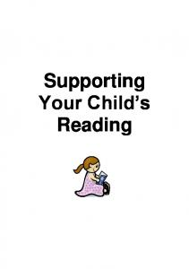 Supporting Your Child s Reading