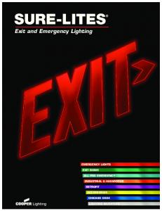 SURE-LITES. Exit and Emergency Lighting EMERGENCY LIGHTS EXIT SIGNS ALL PRO EMERGENCY INDUSTRIAL & HAZARDOUS RETROFIT ACCESSORIES CHICAGO CODE