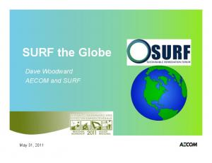 SURF the Globe. Dave Woodward AECOM and SURF