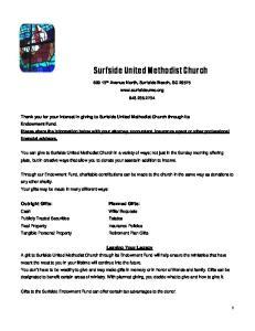 Surfside United Methodist Church