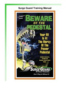 Surge Guard Training Manual