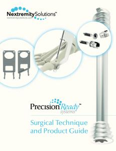 Surgical Technique and Product Guide