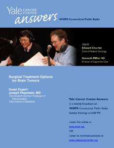 Surgical Treatment Options for Brain Tumors