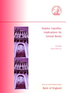 Surplus Liquidity: Implications for Central Banks